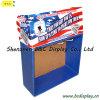 Carton Crochet affichage, papier Stand avec MDF, Crochets Display Stand (B & C-D052)