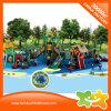 Kind-Spiel-Plättchen-Geräten-Plastikspiel-Haus mit Gefäß-Plättchen