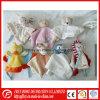 Juguete relleno de la manta del consolador del bebé de la felpa