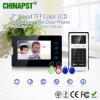 El más nuevo vídeo de color Doorphone con la tarjeta y la palabra de paso (PST-VD07T-IDS) de la identificación