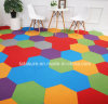 Tapis Commercial tils hexagonal/Sexangle carreaux de tapis de nylon/Dalles de moquette