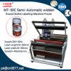 De halfautomatische Machine van de Etikettering van het Type Widden voor Fles Yougurt (MT-50C)