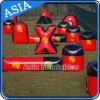6 Personen-Bogenschießen-Luft-Bereich, aufblasbare Paintball Bunker für CS Spiel