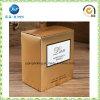 Caisse d'emballage faite sur commande de papier de carte d'or de ventes en gros pour la bougie (JP-box039)