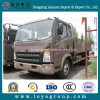 HOWOの軽トラック4X2の貨物トラックの塀のトラック