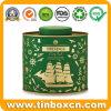 風味を付けられた緑茶および白の茶のための金属の錫ボックス