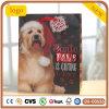 Мешок маленькой собаки рождества милый бумажный