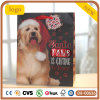 Bolsa de papel linda del pequeño perro de la Navidad