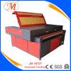 Cuir/polyester/machine découpage de coton pour la fabrication de textile (JM-1810T-AT)