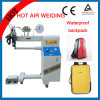 El aire caliente PVC/PE impermeabiliza la soldadora del lacre de la costura