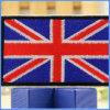 El sombrero bordado modelo británico al por mayor del indicador DIY arropa la corrección