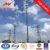 Galvanizaed achteckige Übertragungs-Zeile Stahl Pole