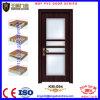 普及したガラスデザイン夕食部屋エントリ木ドア
