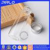 5ml rimuovono la fiala di vetro con la piccola fiala tubolare della bottiglia di vetro di metallo del coperchio d'argento della vite