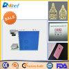 preço da máquina do marcador da marcação do laser da fibra da caixa do telefone do metal 20W