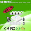 4 kits populares del canal H. 264 Poe 720p NVR