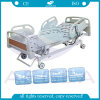 Los frenos controlado central eléctrica de cinco funciones cama del paciente (AG-BM002)
