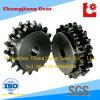 Motorrad-Stahl geschweißtes Keil-Standardaktien-Kettenrad Soem-05b-2