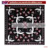 Enveloppement coton Bandana coiffure poignet Headtie imprimé foulard (C1112)
