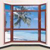 China-Fabrik-Aluminiumbucht-Fenster Lowes Balkon-Glasvorhang-Fenster