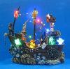 10 LED  Rover avec hélice tournante de la mer & Pirate décoration pour Halloween Party