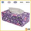 Commercio all'ingrosso di cuoio variopinto promozionale operato della casella del tessuto