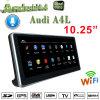 10,25Antirreflejos Carplay reproductores de DVD para coche Audi A4 B9, navegación GPS conexión WiFi, DAB Hualingan