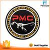 PVC Rubber 3D Patch di Round Custom Logo del dinosauro