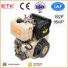 Refrigerado por aire de un cilindro de Motor Diesel portátil