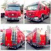 Хорошее качество Sinotruk HOWO Fire погрузчик Volume 5 МУП-10М3, пожарных погрузчика с огнетушитель, воды Fire погрузчика