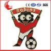 Do futebol profissional do produto de Guangzhou emblema macio do esmalte