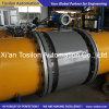Flange Tipo eletromagnética Líquido Medidor de Vazão RS485 4-20mA