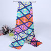 Écharpe magique de foulard de Madame Fashion Printed Satin Silk Mutifunctional (YKY1091-13)
