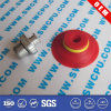 Tasse différente adaptée aux besoins du client d'aspiration en caoutchouc 10mm