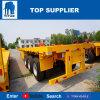 Véhicule de titan - ventes à plat 40FT extensibles de remorque de camion de BPW 60FT