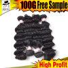 Волна малайзийских волос Remy свободная с хорошим ценой