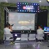 jogos do injetor do alvo da plataforma de Vr do jogo 3D que caçam o simulador do tiro