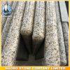 Opgepoetste Countertop van de Keuken van het Graniet van de Rand BR van Bullnose Gele Worktop