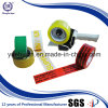 Cinta de poco ruido impresa de la impresión adhesiva de acrílico de papel de la base BOPP