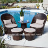 Rattan Furniture Leisure Tea Table Coffee Table Set für Outdoor
