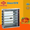 Neuer Stiftgas-Huhnrotisserie-Ofen des Entwurfs-6 für Verkauf
