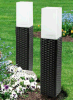 Indicatore luminoso chiaro solare della candela del giardino LED di Ratten