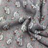 Sciarpa tessuta coniglio libero di stampa dell'azo per l'accessorio della signora modo