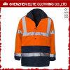 Het in het groot Oranje Weerspiegelende hallo Jasje van Vis Workwear (eltsji-2)