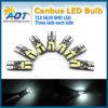 Whit 6000k Canbus T10 5630 SMD 2825 ксенонего 2821 DC светильника 12V автомобильной лампочки накаливания W5w