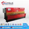Machine de découpage de tôle de QC12y 4*3200 OR, machine de tonte d'acier inoxydable/acier du carbone