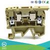 Utl Sicherung-Schrauben-Klemmenleisten mit 2 Leiter-Cer UL