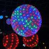 Holiday a esfera de Flores decorativas de diferentes cores de luz LED opcional