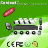 Outdoor 4CH 1080P CCTV Ahd DVR Kit com HD (XVRD420CPB10)