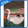 Water Peking Inflatable Sports Equopment, gigant Swan Water Trampoline for Fun
